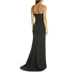 Windsor Long black formal dress